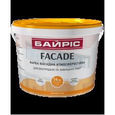 Фарба фасадна атмосферостійка «Facade» Байріс 1.4л.